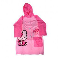 No.8 Cute Hello Kitty Style Cloudburst PVC Raincoat for Children Hot Sale At Wholesale Price - Gadgetsdealer.com