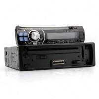 PS-8219 - LCD 4 x 52W Kfz DVD Player w/ FM/USB/SD-Black - US$86.17