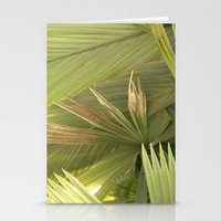 Palm Series I Stationery Cards by Rosie Brown | Society6