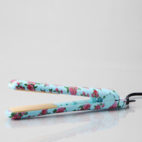 Floral Flat Iron - Limited Edition Vintage-Style Floral Design