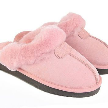 UGG Coquette Slippers 5125 Pink Outlet UK