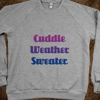 C - Cuddle Weather Sweater