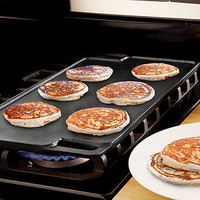 Double-Sided Cast Iron Griddle | Cooking and Baking| Kitchen & Dining | World Market