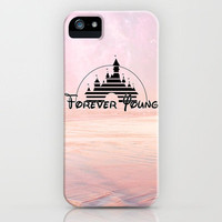 Disney forever young iPhone Case by Tilly | Society6
