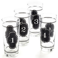 Count on Me Glass Set | Mod Retro Vintage Kitchen | ModCloth.com