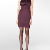 stretch satin embellished dress - Dresses- Calvin Klein