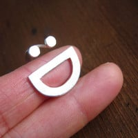 Happy Face Ring :D - Handmade Silver Ring | SmilingSilverSmith handmade silver ring & jewelry
