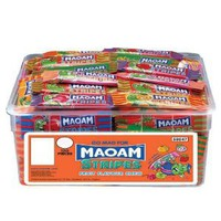 MAOAM Stripes Fruit Flavour Chew