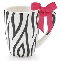 Zebra Stripe Ceramic Coffee Mug Cup Tea 19 Oz. Animal Print Gift
