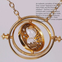 Harry Potter TIME TURNER necklace Hermione Granger by CocoNecklace