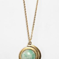 UrbanOutfitters.com &gt; Zodiac Spinner Pendant Necklace