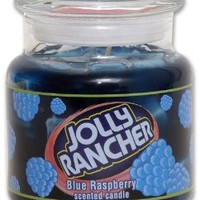 Amazon.com: Jolly Rancher by Hanna's Candle 16.75-Ounce Jolly Rancher Blue Raspberry Jar Candle: Home & Kitchen