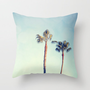 Dos garras Throw Pillow by CMcDonald | Society6
