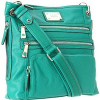 Amazon.com: Tyler Rodan Kingston Cross Body,Pine Green,One Size: Clothing