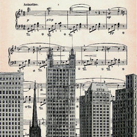 MUSIC retro 47, original ARTWORK, art poster, art print