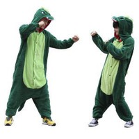 Zicac Costume Dinosaur Children and Adult Pajamas Pyjamas Sleepwear Nightclothes Loungewear Cosplay