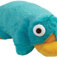 Amazon.com: My Pillow Pets Authentic Disney Perry Folding Plush Pillow, 18-Inch, Large: Home &amp; Kitchen