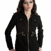Jack BB Dakota Women's Nicola Jacket- Black - Punk.com