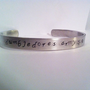 Dumbledore's ARMY Harry Potter Hand Stamped Cuff by MelodicDesign