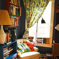 Home / Stacey  John&amp;#39;s Crazy Quilt of An Apartment House Tour | Apartment Therapy Chic