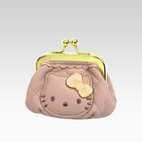 shop.sanrio.com - Hello Kitty Quilted Coin Purse: Pink