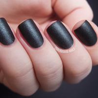 Moonlight Bay Matte Shimmer Nail Polish from Life's a by SoFlaJo