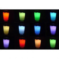 Color Change LED Night Lamp Milk Cup Lamp Easy On Off