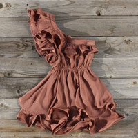 Copper Creek Ruffle Party Dress