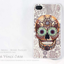 Sugar Skull BUMPER iPhone 4 case  iphone 4s case  by DaVinciCase