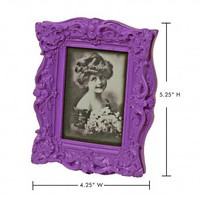 Wake Up Frankie - Le Petite Baroque Picture Frame - Purple : Teen Bedding, Pink Bedding, Dorm Bedding, Teen Comforters