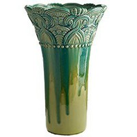 Blue &amp; Green Reactive Vase