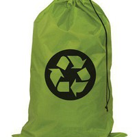 Recycle Laundry Bag Green