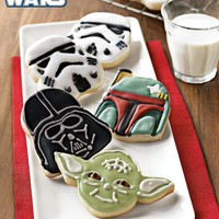 Star Wars? Heroes & Villains Cookie Cutters | Williams-Sonoma