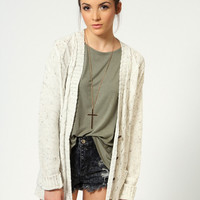 Tara Knitted Boyfriend Cardigan