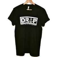 Drop The Anchor Clothing — Logo Tee (black)