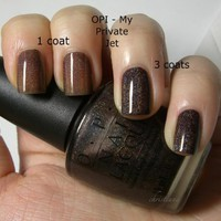 Opi Nail Polish My Private Jet NLB59