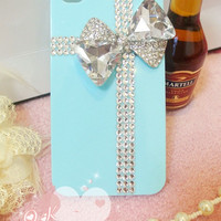 Bling tiffany iphone 4 case iphone 4s case iphone 5 case iphone 5 cover iphone 5 protection