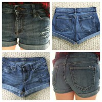Distressed Denim Shorts from Lizzii's ♥ Closet