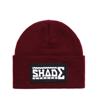 SHADE Beanie Hat - Burgundy - SHADE London | The official website and online store for SHADE London