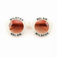 BEL AIR FRAME at Wildfox Couture in  BLACK FRAME, PINK FRAME, WHITE FRAME, CRSL