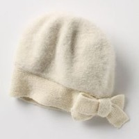 Rumpled Bowtie Beanie - Anthropologie.com