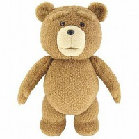 Ted 16&quot; Plush Figure with Sound &amp; Moving Mouth