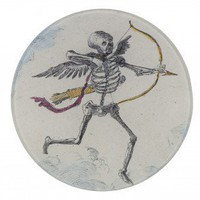 Skeleton With Arrow Plate - Tabletop - Accessories