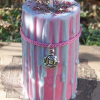 BLODEUWEDD Lady of Initiation Soy Candle for Mystical Initiation into the Sacred Mysteries of Witchcraft, Commitment to One's Inner Truth