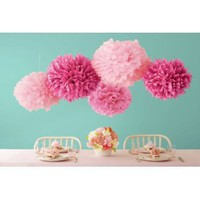 Amazon.com: Martha Stewart Pom Poms, Pink, 2 Sizes: Arts, Crafts & Sewing