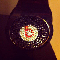 Beats by Dre Headphones Custom Crystalized Any by dbleudazzled