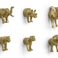 Kikkerland Design Inc   » Products  » Golden Egyptian Magnets