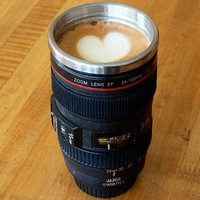 Cool Camera Steel Coffee Or Tea Mug.. on Luulla