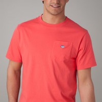 Embroidered Pocket | Short  Sleeve TShirt | Southern Tide
