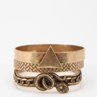 UrbanOutfitters.com > Clea Bangle Bracelets - Set of 3